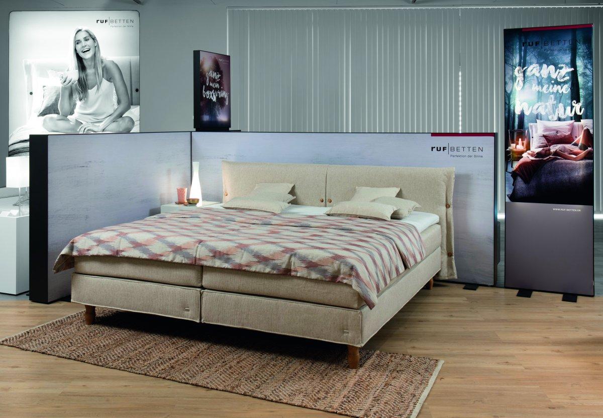 ruf betten neue programme sich frei f hlen wie in der natur m belmarkt. Black Bedroom Furniture Sets. Home Design Ideas
