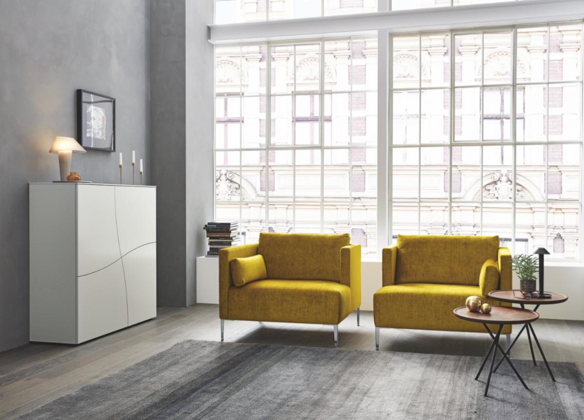 wk wohnen neue programme exklusive oberfl che f r exklusive m bel m belmarkt. Black Bedroom Furniture Sets. Home Design Ideas