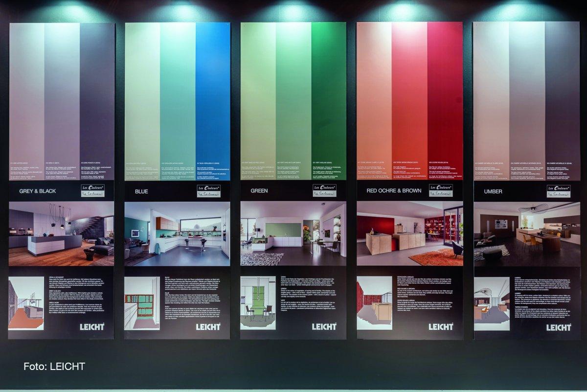 leicht k chen neue programme impulse durch farben m belmarkt. Black Bedroom Furniture Sets. Home Design Ideas
